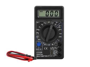 DT830B DIGITAL MULTIMETER DC / AC - BLACK
